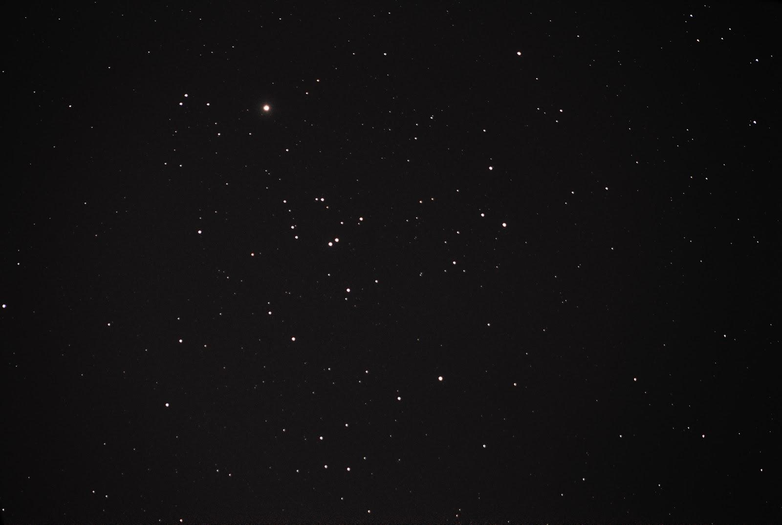 hyades star cluster in taurus