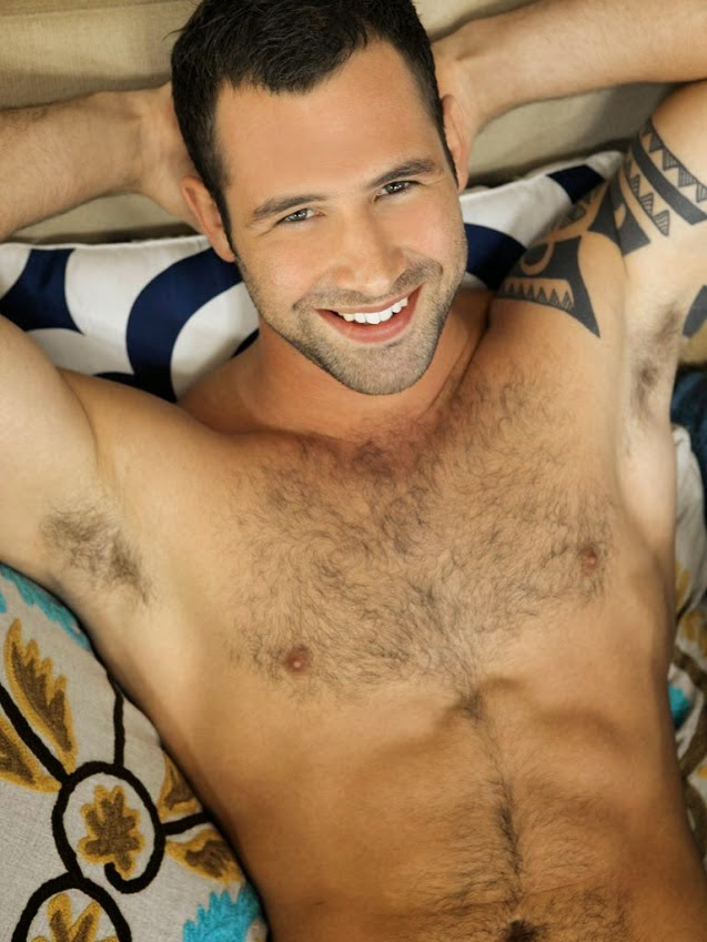 Charming Man's Hairy Armpits