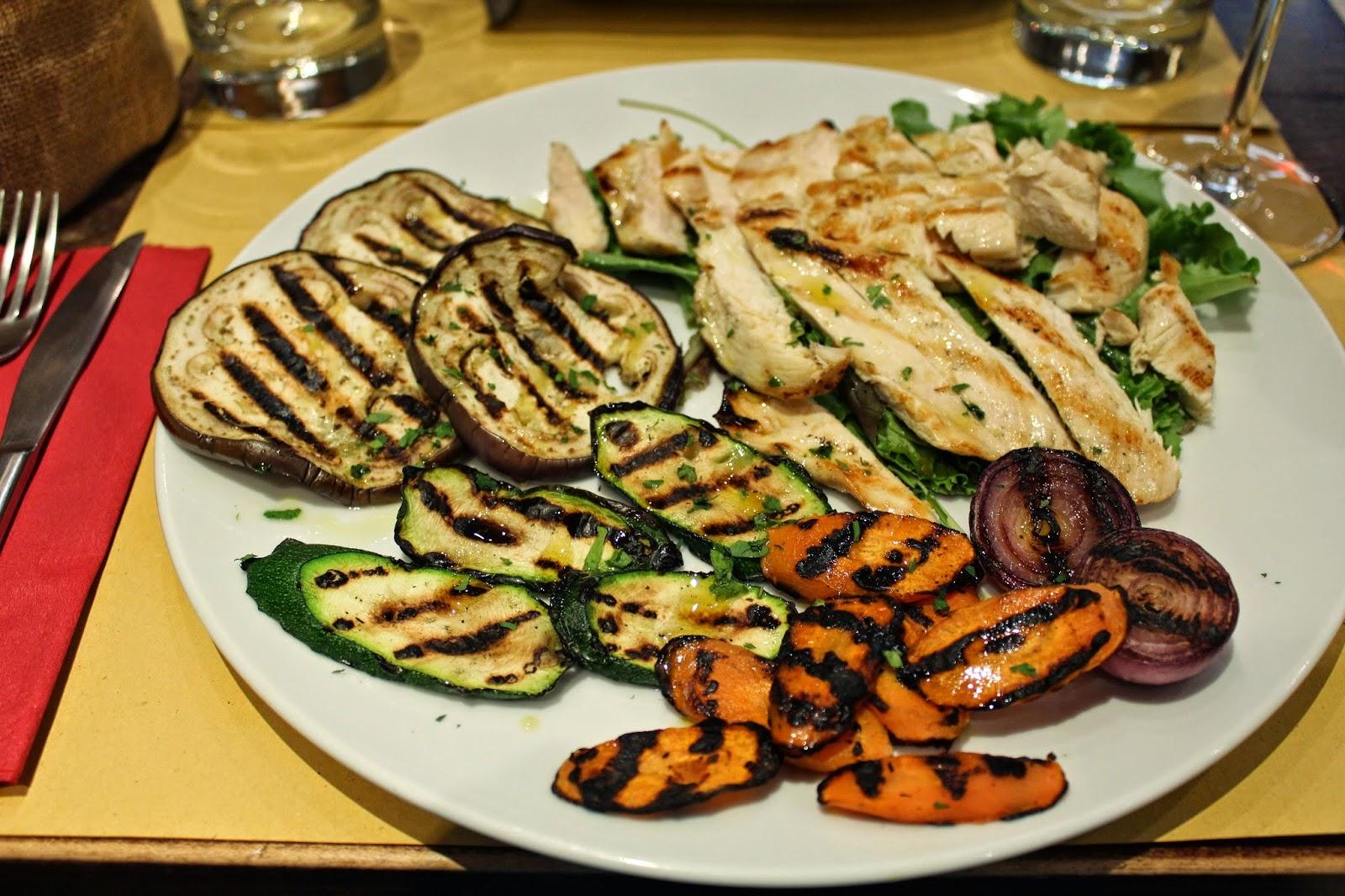 Grilled Veggies Italian style
