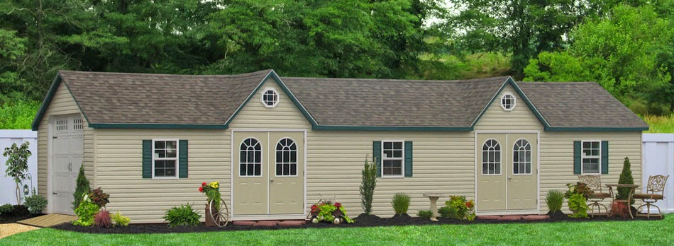 half et cedar vinyl tan shutters sale quaker roof pa doors moon siding for chester sheds county steel in show duratemp optional louvered with