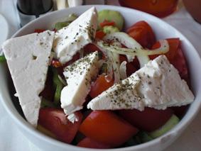 Lecker: Griechischer Salat