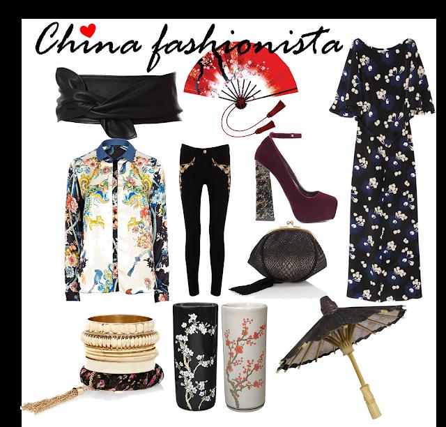As tendências fashionistas giram em torno do mundo oriental