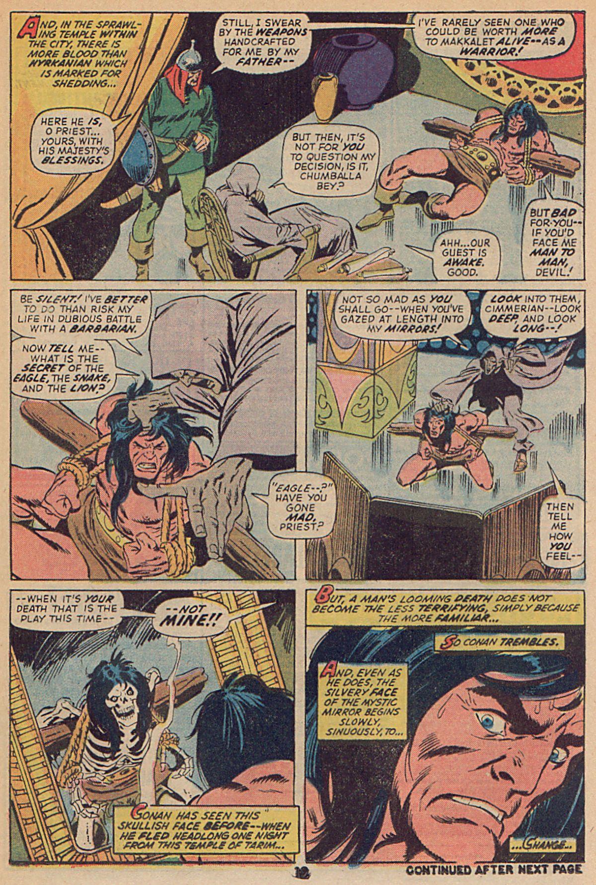 Conan the Barbarian (1970) Issue #25 #37 - English 15