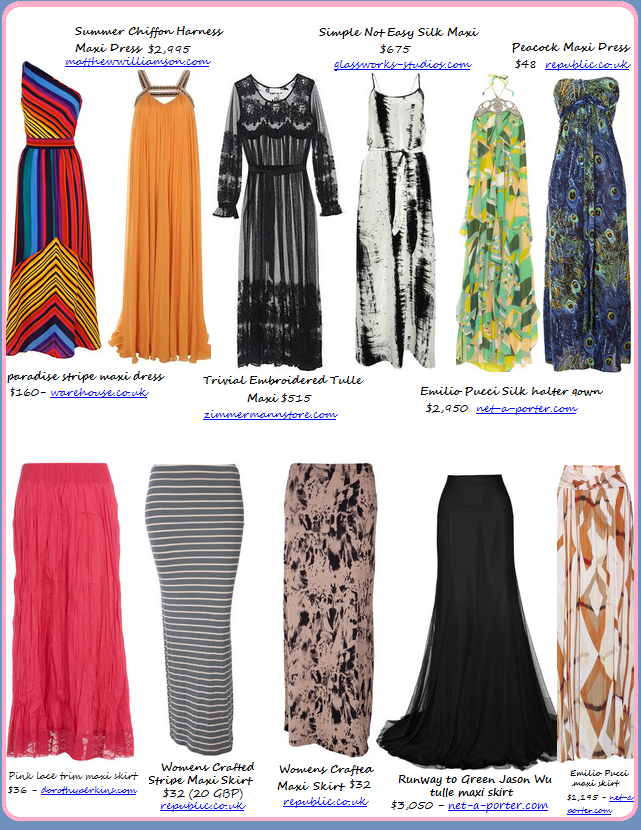 a1140e50d2 Above you can find the perfect maxi dress or skirt to go with any body type  and any style. Personally