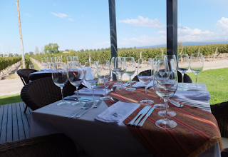 wine tasting and haute cuisine lunch Mendoza