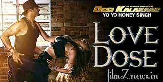 Love Dose Lyrics form Desi Kalakaar - Yo Yo Honey Singh