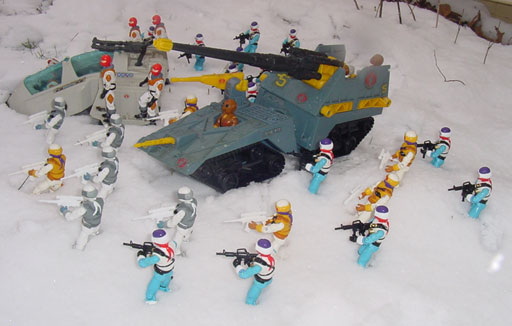 1993 Snow Serpent, Arctic Commandos, Mail Away, 1998, 1991, 1987 Ice Viper, Maggot, Wolf