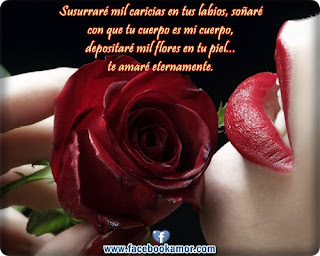 Frases De Amor: Susurraré Mil Caricias En Tus Labios