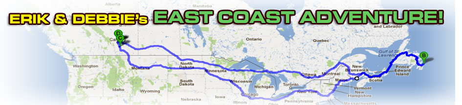 Erik & Debbie's East Coast Adventure