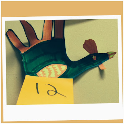 Stretching Hand Turkey