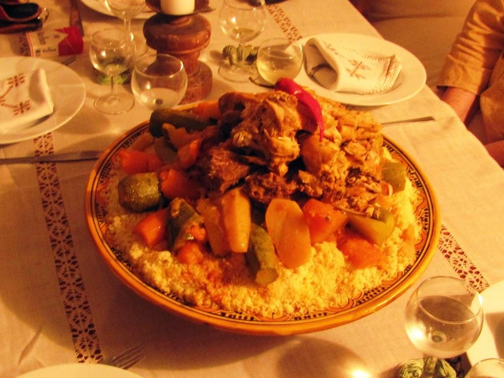 Recette couscous marocain recette couscous couscous royal for Idee repas avec amis