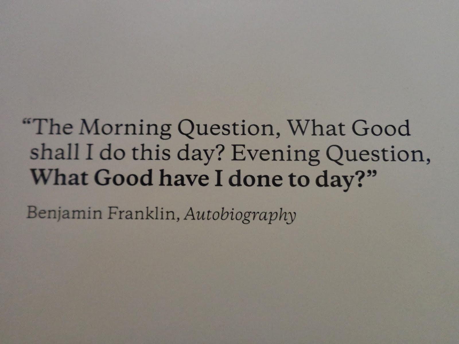 ben franklin american dream essays