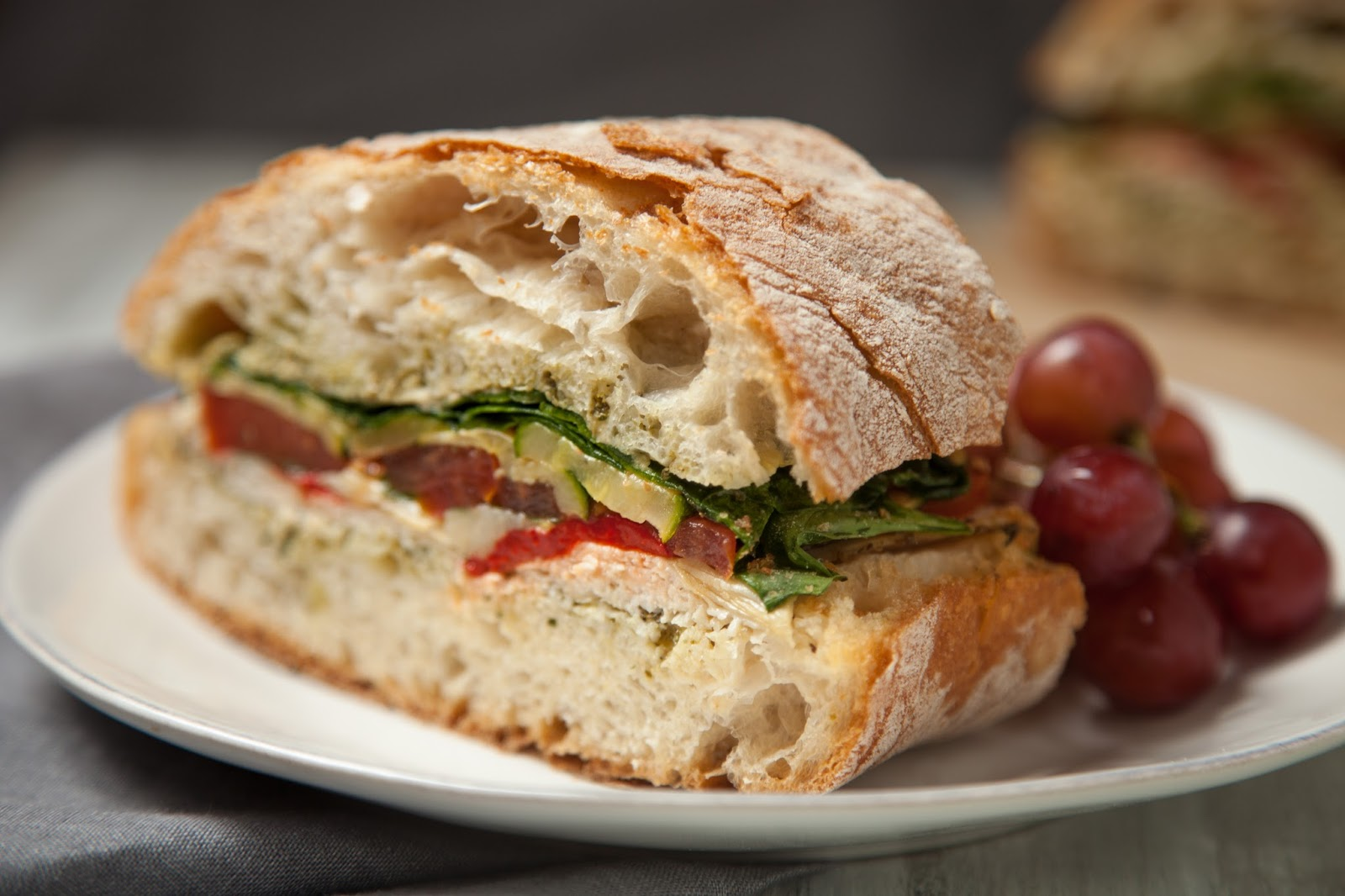 Turkey And Veggie Sandwich Recipe — Dishmaps