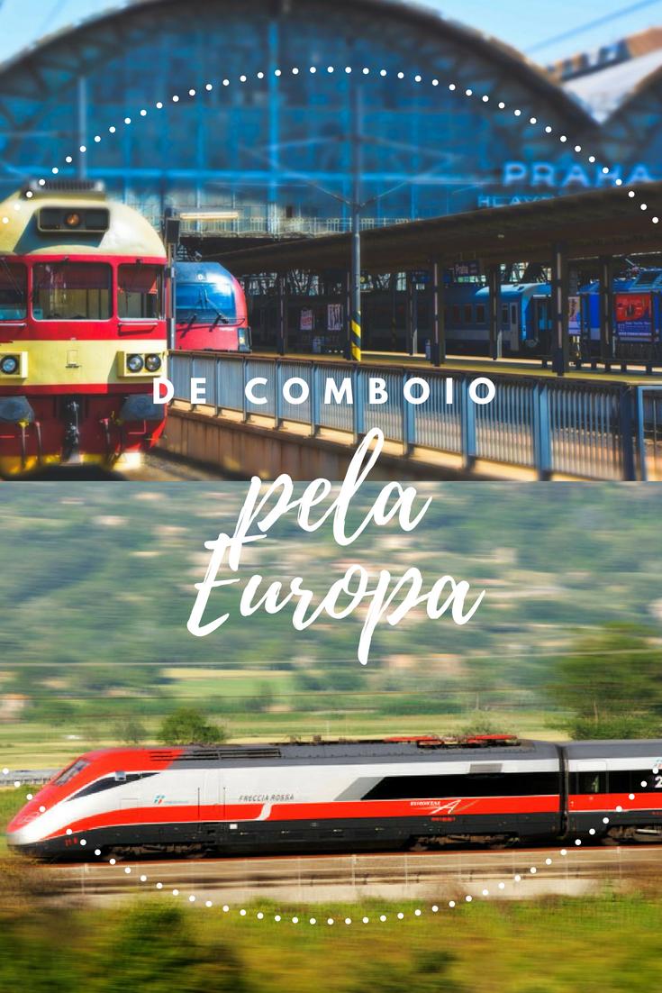 Viajar de Comboio pela Europa