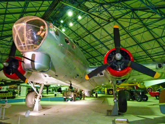 RAF, Flying Fortress, 8th Air Force, museum, London