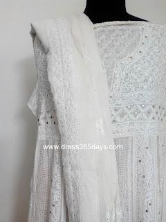 Yoke Anarkali Paisley pattern