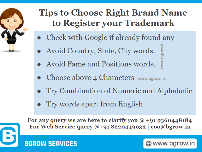 Tips to Choose Brand Names
