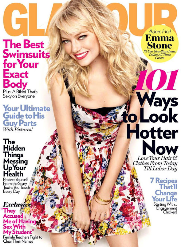 Emma Stone Is a Pretty Girl For Glamour