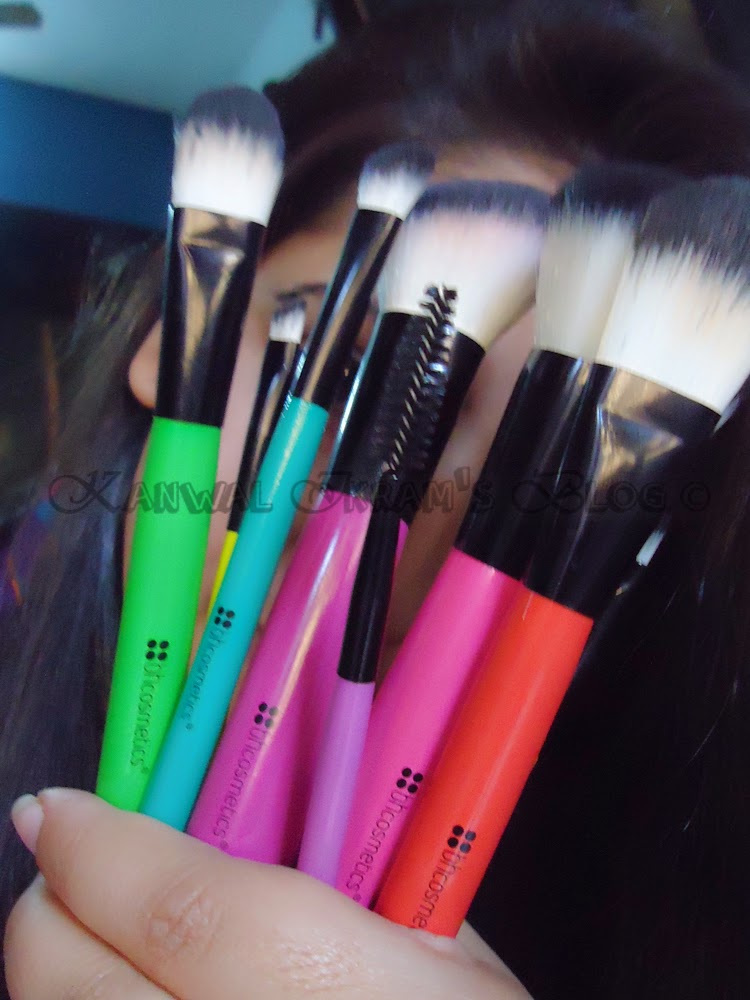 BH-Cosmetics Pop Art Brush Set-Review
