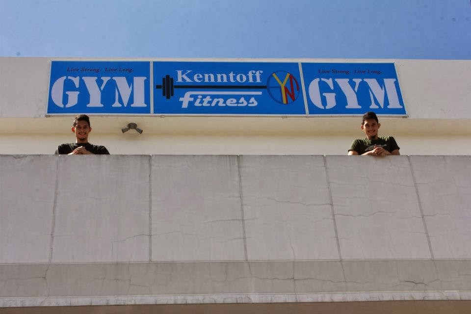 Kenntoff Fitness Gym with Kenny and Toffi