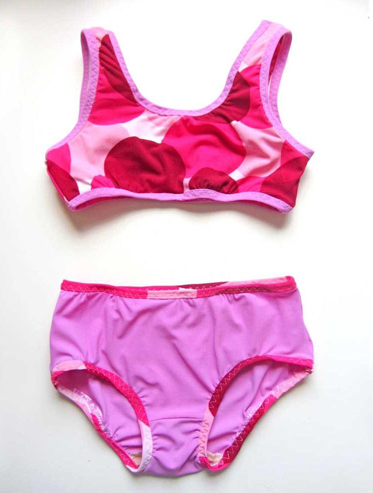 Badesachen für alle: Schnittmuster Badeanzug & Bikini ...