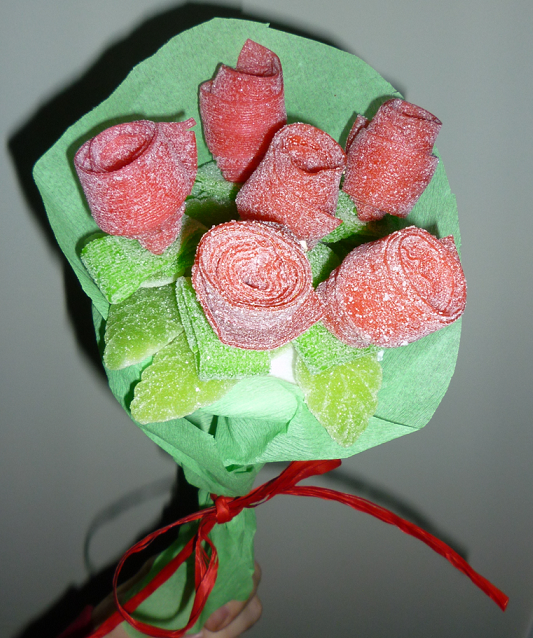 Chuches a la carta san valent n 2012 ideas dulces para for Envolver brochetas de chuches