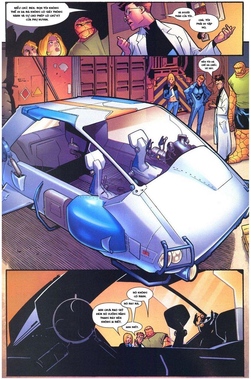 Ultimate Fantastic Four chap 10 - Trang 15