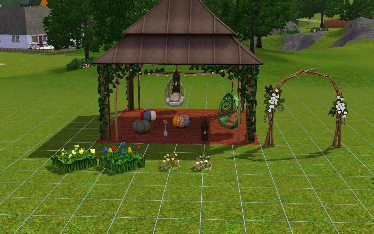 aznsensei s sims 3 store bohemian garden store set review