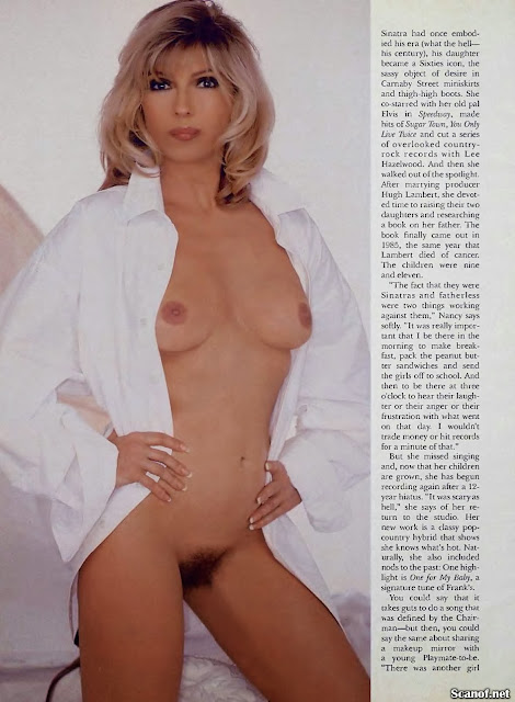Nancy Sinatra Playboy Usa May 1995 - Sexy Erotic Girls ...