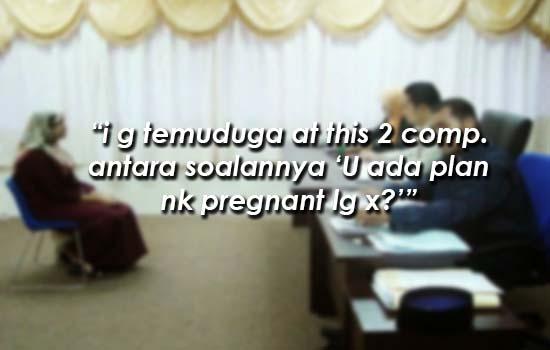 Soalan Pelik yang ditanyakan bakal majikan kepada seorang ibu semasa temuduga