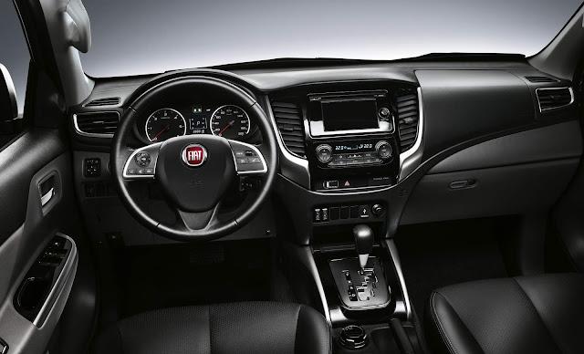 Fiat Fullback - interior