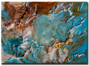"Abstract Painting ""Complete Serenity"" by Dora Woodrum"