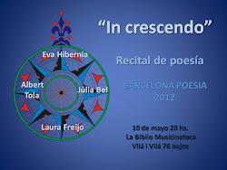 ***Noticias Julio 2012_ poesía In Crescendo en el Castillo de Cornellá
