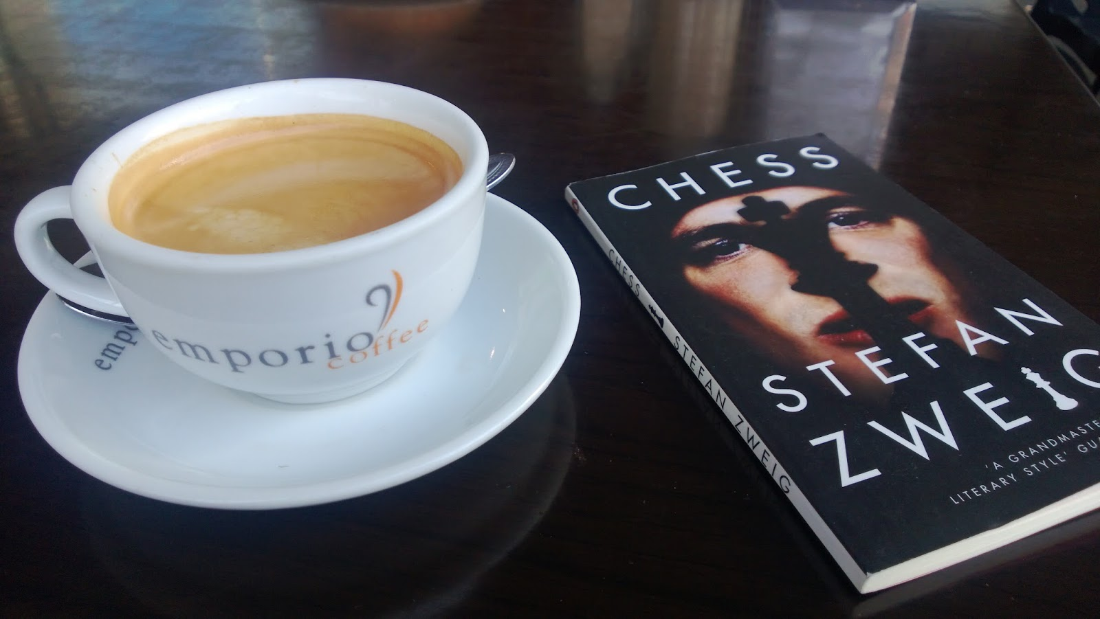 Coffeehouse Chess Chess Story Stefan Zweig