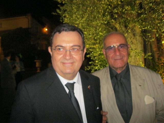 Il Governatore Mastrorilli in compagnia del Direttore del blog, dopo una breve intervista.