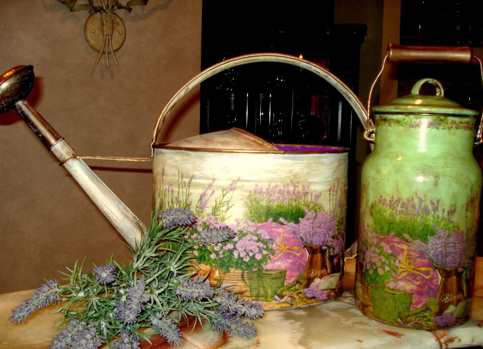 Фото бидон с цветами