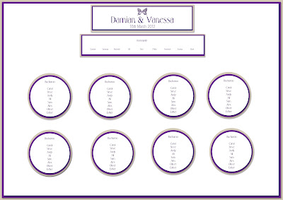 Knots And Kisses Wedding Stationery Table Plan Ideas For Your Wedding Reception