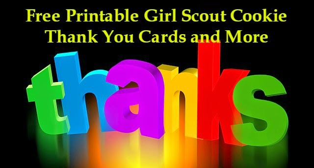 picture regarding Girl Scout Cookie Thank You Note Printable named Daisy Troop Pursuits for Leaders: Free of charge Printable Lady