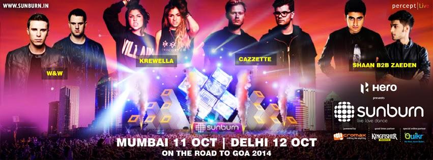 Sunburn Goa announces City Festivals in Mumbai and Noida this October