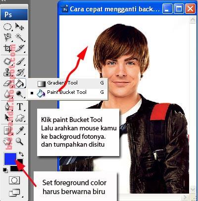 Cara Cepat Mengganti Background Foto Dengan Adobe Shop Tips Dan