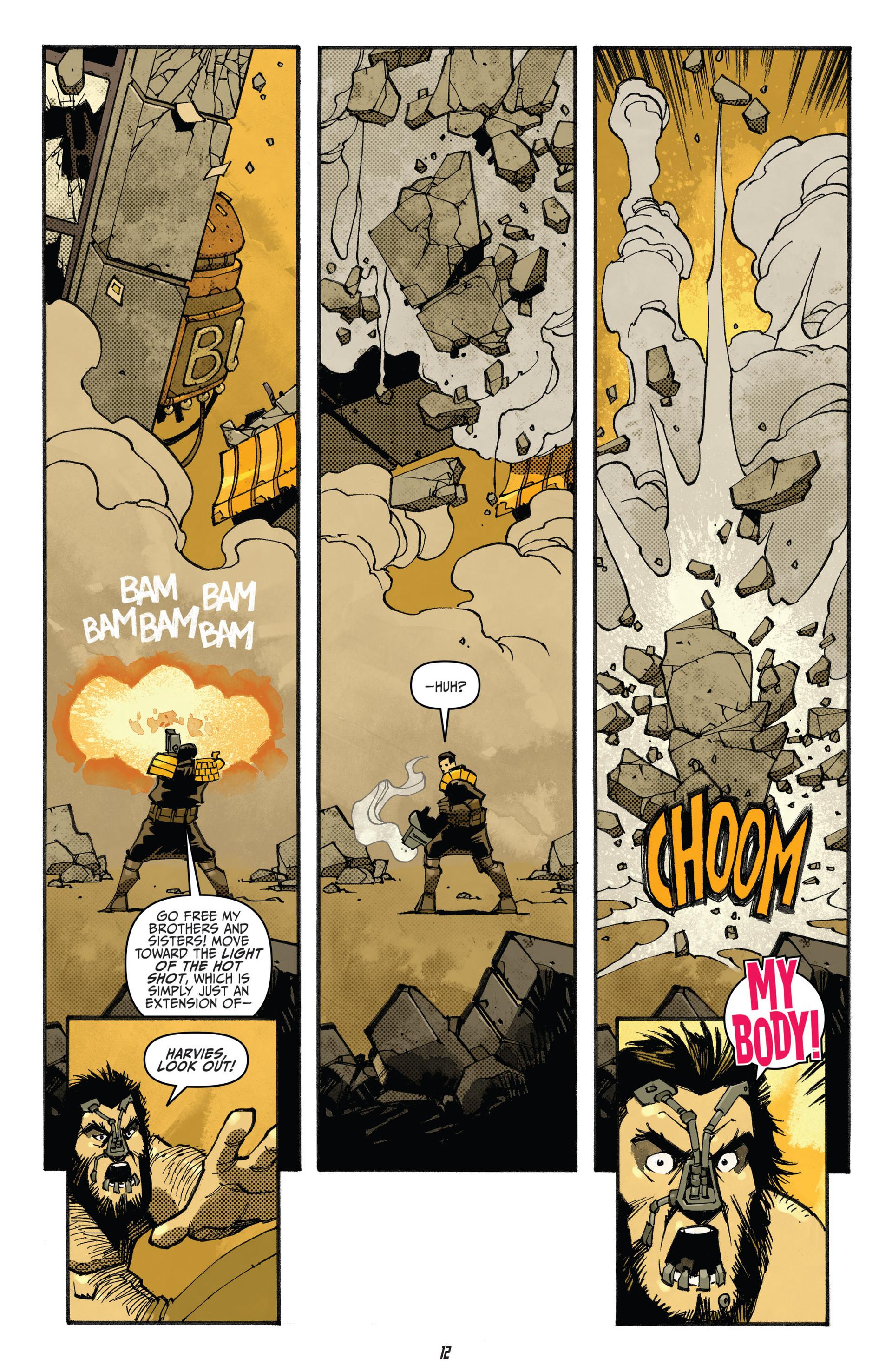 Read online Judge Dredd (2012) comic -  Issue #20 - 14