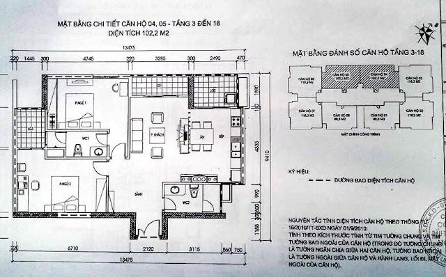 mặt bằng căn hộ phú gia residence 4