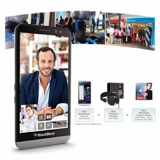 Peluncuran BlackBerry Z30