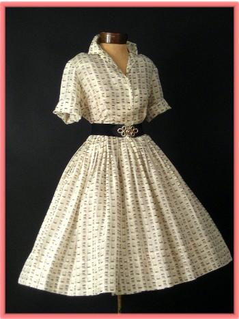 Платья в стиле 50 60 годов