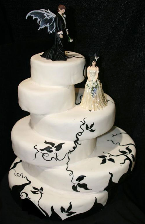 Cake [grrls] cakery: Gallery of Perfect Goth Cakes