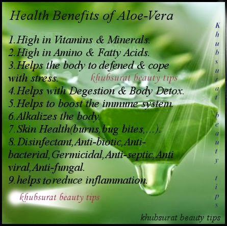 Benefits of aloe Vera plant