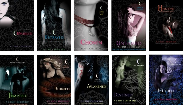 house of night marked book report