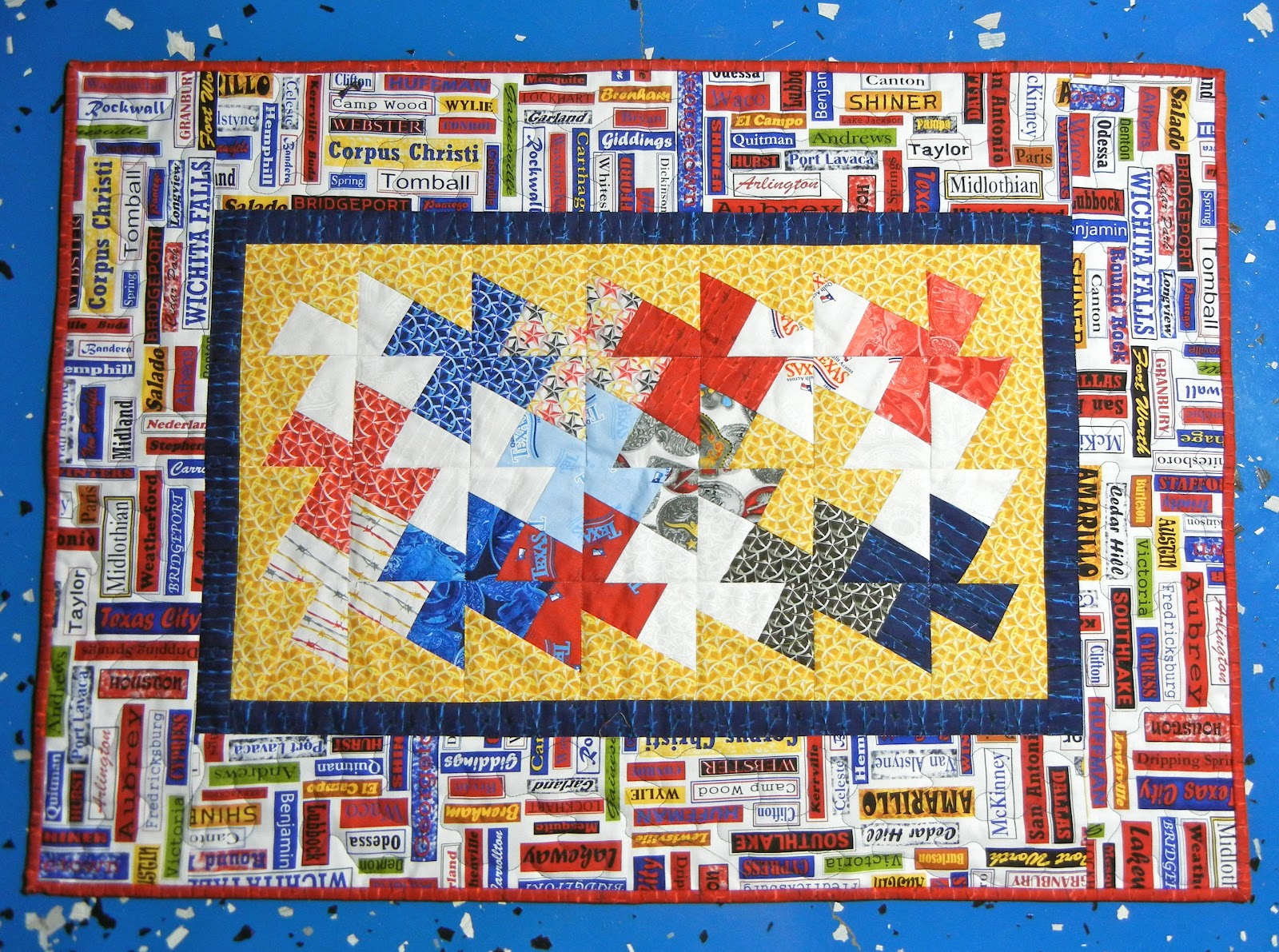 Quilters Crossing: Quilt Across TEXAS
