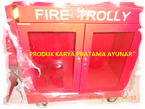 Box Apar  Fire Trolley
