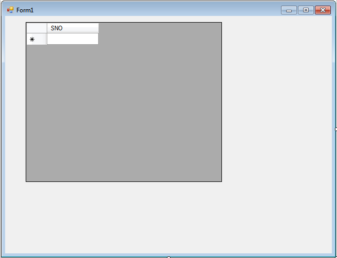Auto generate serial number in gridview css